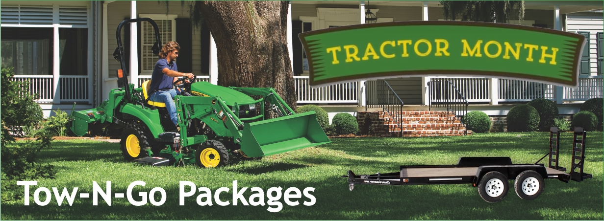 July Tractor Sale - Tow-N-Go Packages