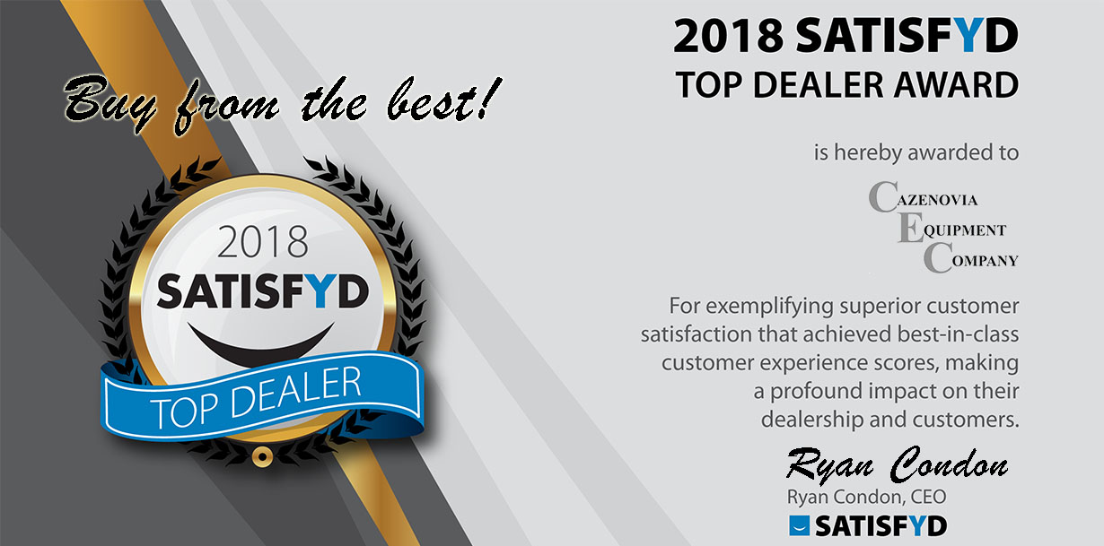 Satisfyd Top Dealer Award