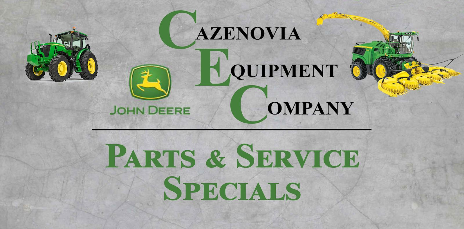 Cazenovia Equipment Homepage