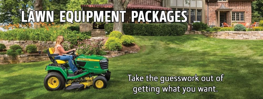 Lawn Equipment Packages