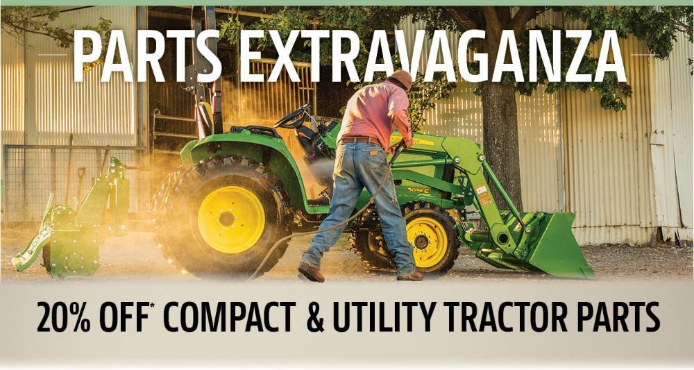 Fall 2020 Compact and Utility Parts Promotion